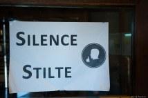 stilted