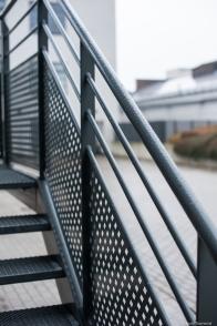 wet railing