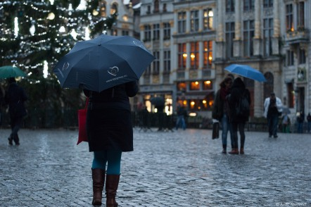 Umbrellas of Brussel
